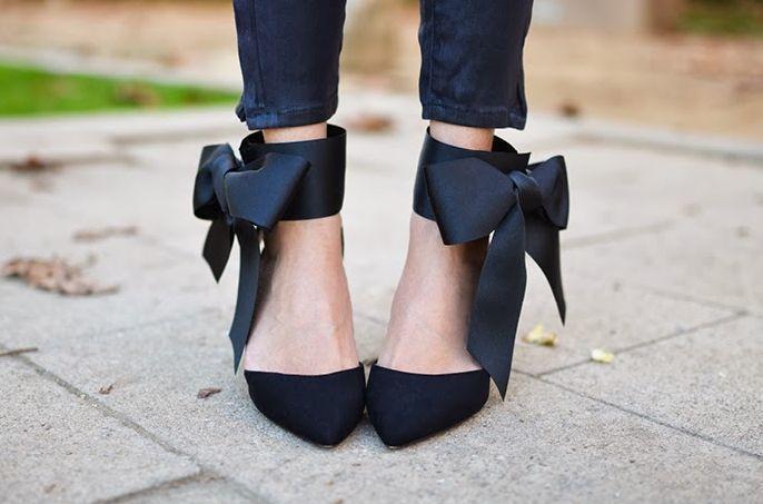 DIY Bow Heels