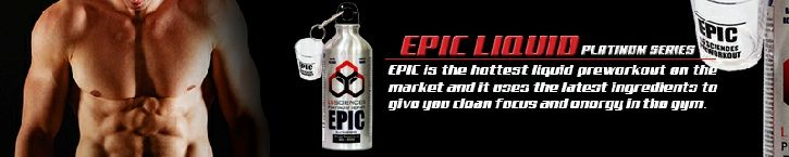 #EpicPreWorkout 660ml now available via http://life-institute.org.za