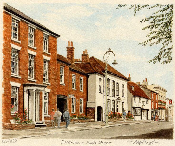 Fareham - High St - Portraits of Britain
