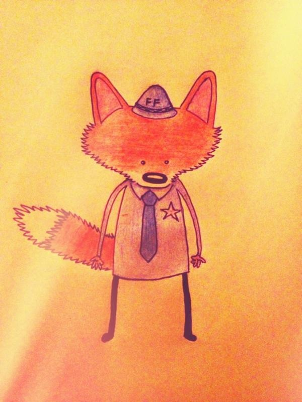 The sheriff of fox town #foxyforce
