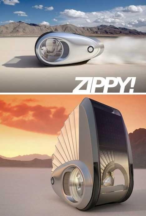 Ecco-camper concept RV is a streamlined, zero-local-emission