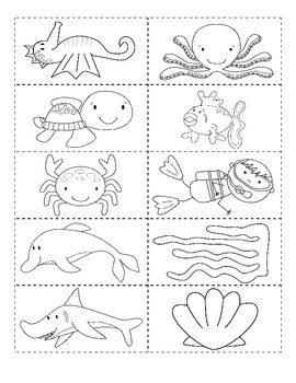 Ocean Friends What is in the ocean? Emergent Reader