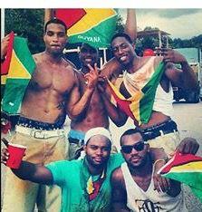 Guyana men flag