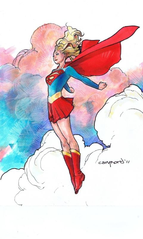 Supergirl by Cary Nord