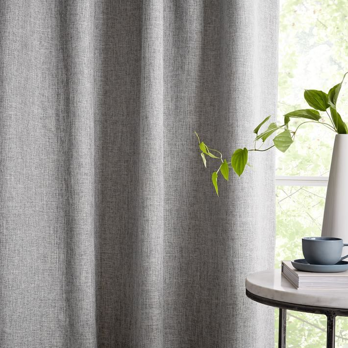 Crossweave Curtain Stone White Curtains Moroccan Style Rug Charcoal Curtains