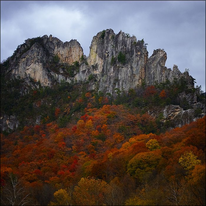 Thinking about writing a second book dealing with the folks in fictional Holloway, West Virginia. This is Seneca Rocks and would be included somehow. UPDATE: I am writing the book!  LEAN ON ME will be out in October 2012 from Carina Press.