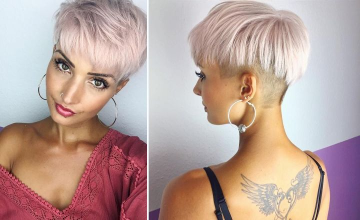 17 best images about kurzhaarfrisuren on pinterest pixie styles 2016 trends and emma roberts - Kurzhaarfrisuren pinterest ...
