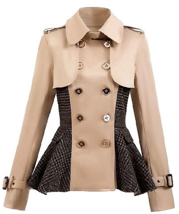 The 25  best Peplum coat ideas on Pinterest | Winter coats canada ...