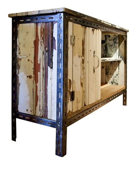 Upcycled Cupboard by Rupert Blanchard