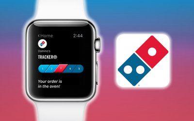 Domino's releases its Apple Watch App