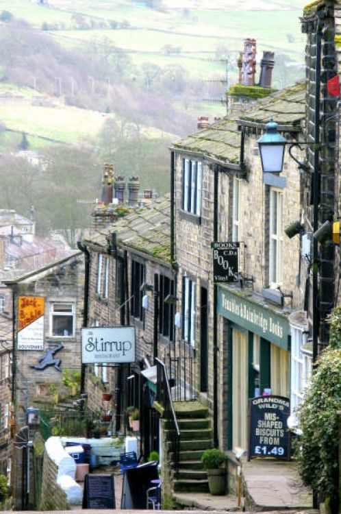 Haworth, West Yorkshire, UK...I visit almost every time I am home...home of the Bronte's