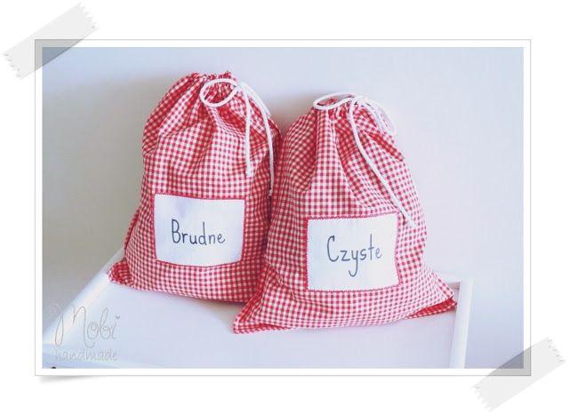 Mobi handmade: Podróżne woreczki na bieliznę