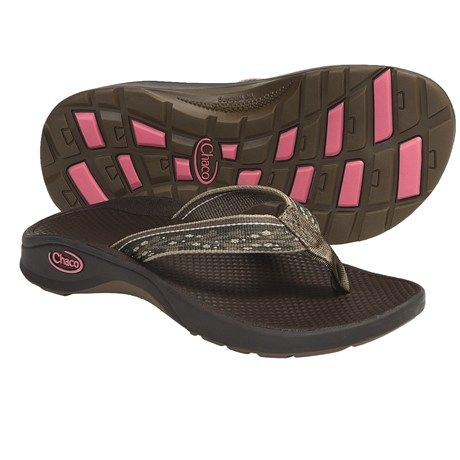 Chaco Bit-O-Flip Ecotread Sandals - Flip-Flops (For Kids and Youth) in Sticks & Berries