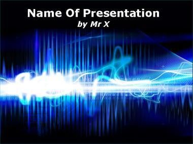 Electric Field Powerpoint Template