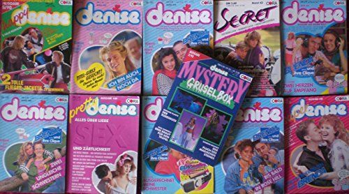 Denise - Romane Romanhefte Cora Verlag 10 Stück + 1 x Denise Mystery Grusel Box: Amazon.de: verschiedene: Bücher