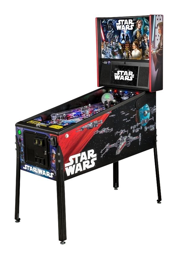 Star Wars 40th Anniversary Pinball Machines From Stern Pinball #StarWars