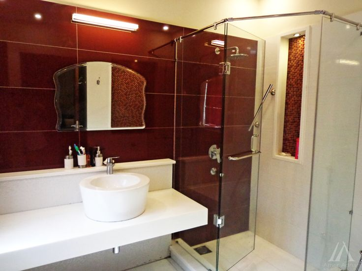 Latest Bathroom Interior Designs By Us At EME Society DHA, Lahore.