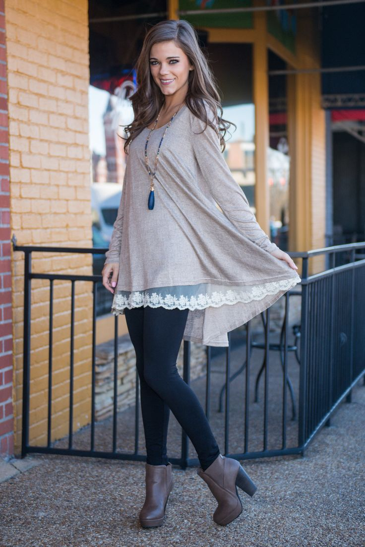 The Weekend Tunic, Mocha - The Mint Julep Boutique