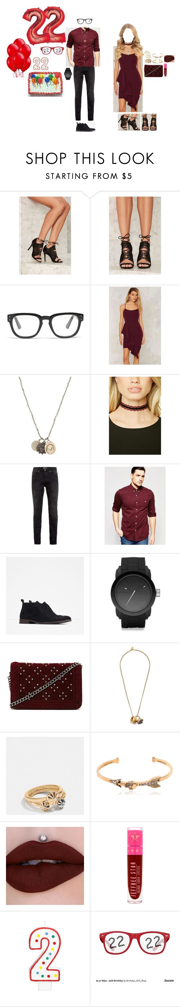 """""""22nd BIRTHDAY!! - 12.18.16"""" by gfc-account ❤ liked on Polyvore featuring Privileged, Madewell, Miracle Icons, Forever 21, Topman, ASOS, Zara, Diesel, Alexander McQueen and Coach"""