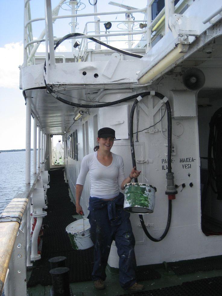 Ekami, merenkulkuala, Kotka.