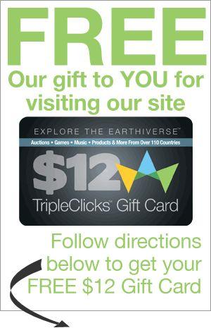Marketing TripleClicks Gift Cards