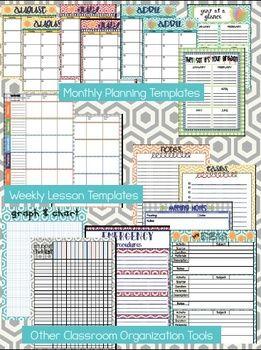 25+ best ideas about Teacher lesson planner on Pinterest | Teacher ...