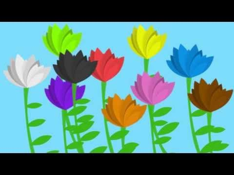 The Flower Song (lullaby for learning colors) - YouTube ...have pictures of different flowers that are that colour naturally to hold up as we sing each verse