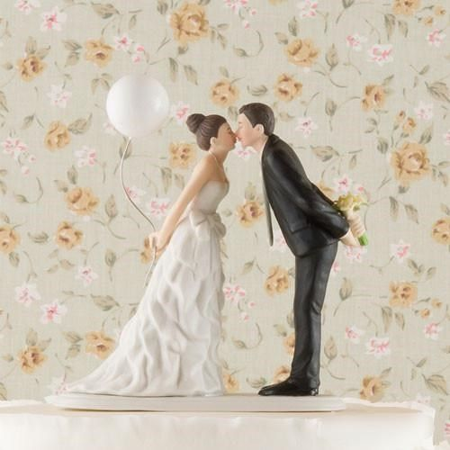 la figurine mariage couple au ballon - Figurine Mariage Humoristique Pas Cher
