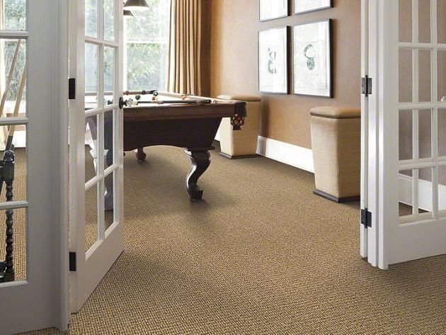 "Carpeting in style ""Dance To It"" color Oyster Pearl by Shaw Floors"