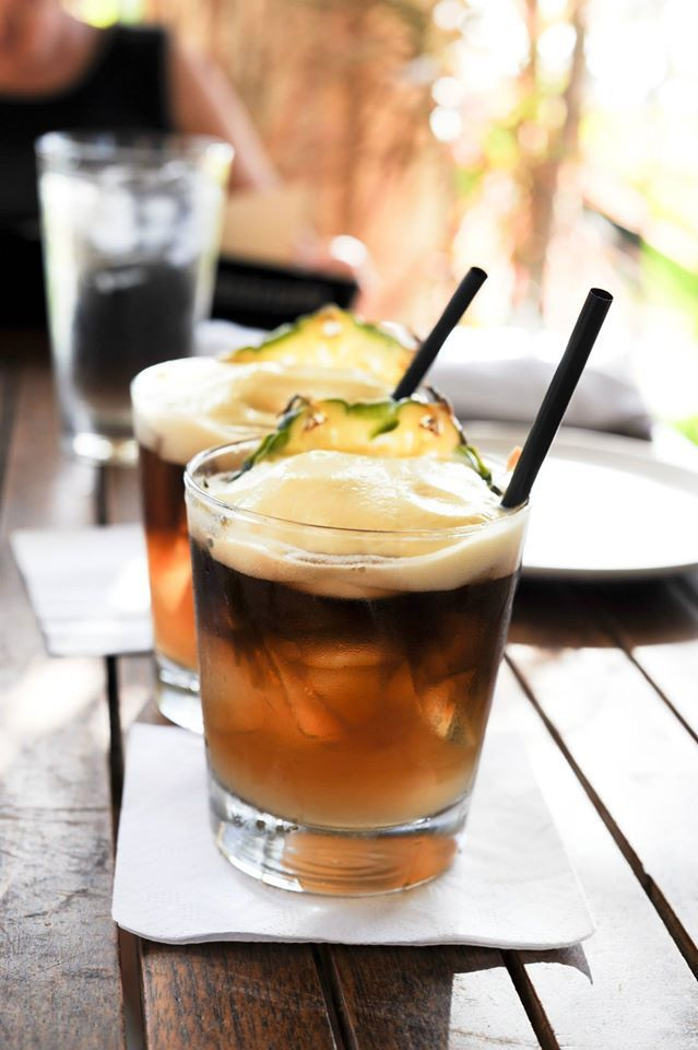 The best Mai Tai on Maui is at Monkeypod Kitchen in Wailea - The lilikoi foam is the ultimate! - Maui Food Review on The Wandering Dragons Blog
