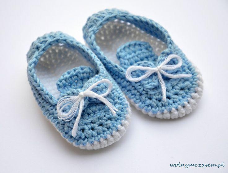 Free Crochet Pattern Baby Hat With Bow : Meer dan 1000 afbeeldingen over baby booties op Pinterest ...