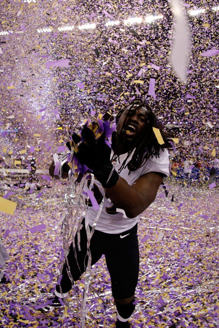 Ellerbeast/The 33 Happiest Photos Of The Ravens Winning The SuperBowl