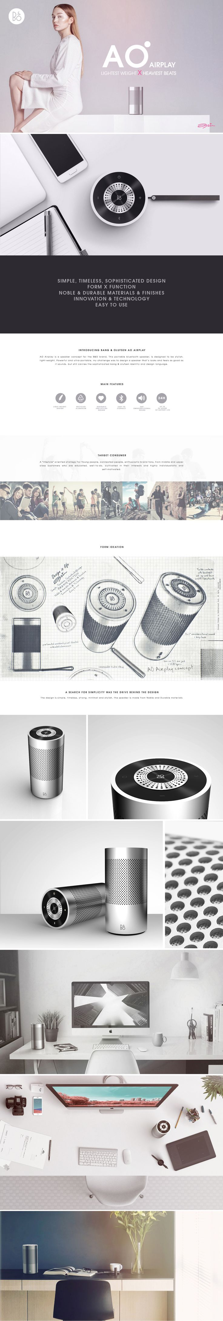 Bang & Olufsen AO Airplay on Behance