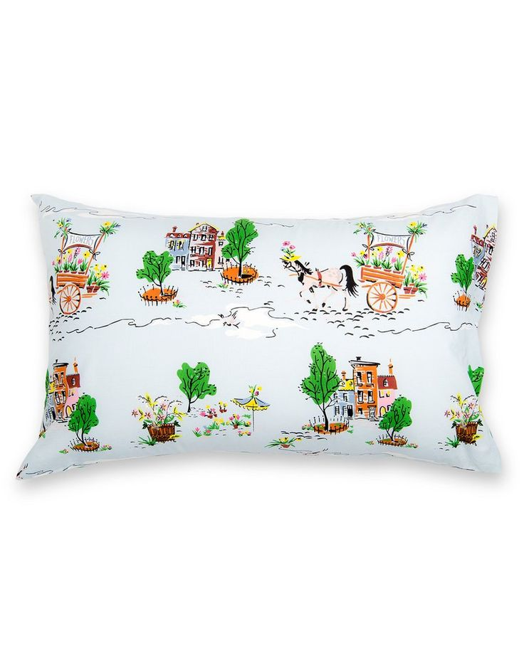 Pillowcase in Lazyville - Set of 2