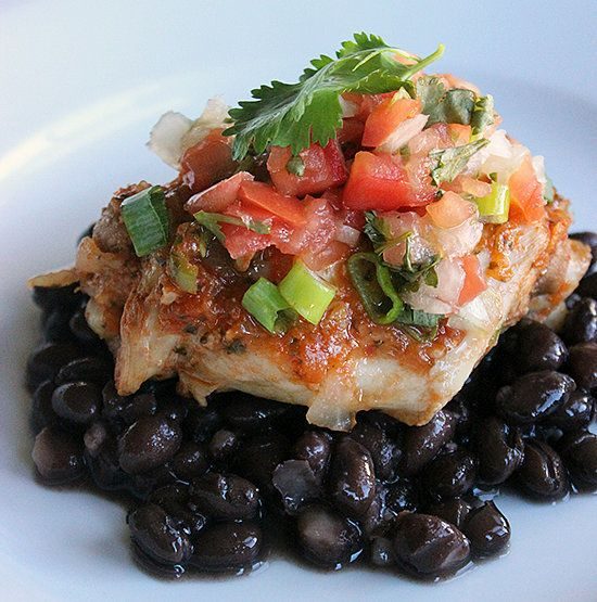 Another slow-cooked meal that takes 15 minutes to prep and works well as leftovers for lunch: this Mexican-style chicken and beans meal is full of flavor as well as fat-fighting protein.