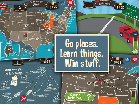 geography drive usa freeonappstore hit the gas and head out on the highway in the fact packed game that turns textbook geography into an exciting