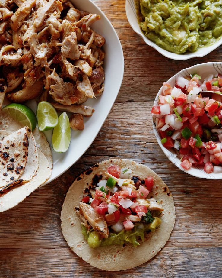 Doing this in the Dutch oven tonight, instead of salsa I'm going to use a can of diced tomatoes and spices. Easy Mexican Shredded Chicken from www.whatsgabycooking.com (@whatsgabycookin)