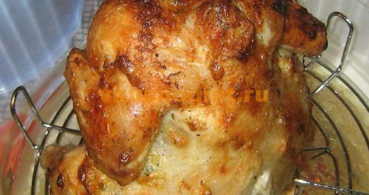 Курица в аэрогриле, запеченная целиком. Способ приготовления курицы в аэрогриле с различными маринадами на примере маринада с лимонным соком.