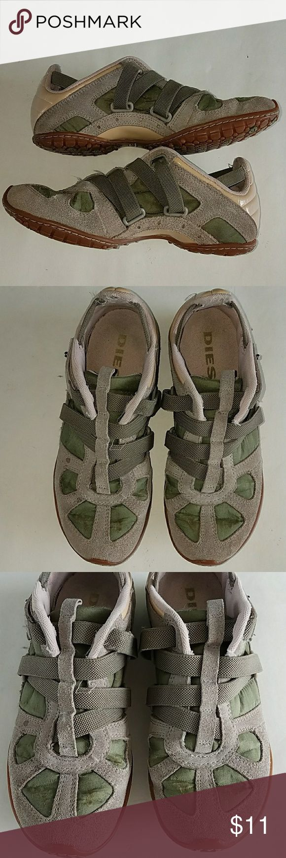 Diesel shoes sneakers sz 6 Diesel shoes sneakers sz 6 Clean inside and out!!! Light signs of wear but still in veryy good shape!!! Diesel Shoes Athletic Shoes