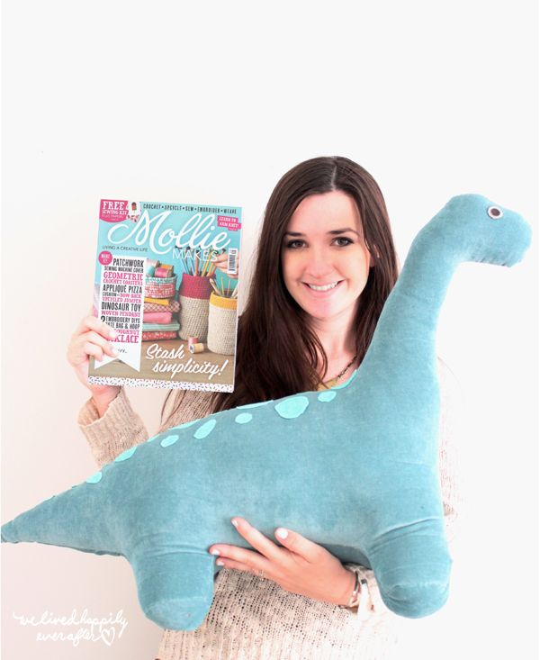 We Lived Happily Ever After: DIY Long Neck Dino