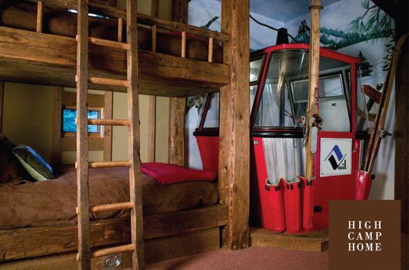 The Cabin Ski House Bunk Room Bunkbeds The Bunk Room