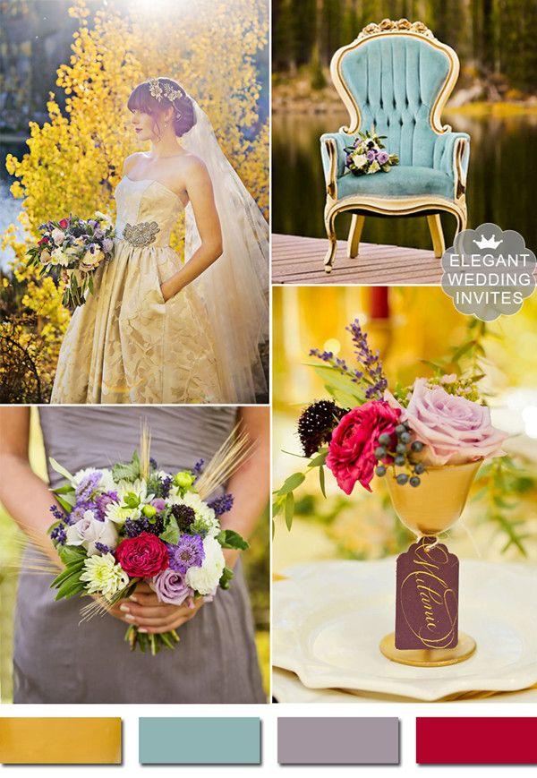 Best 25 Metallic Wedding Colors Ideas On Pinterest