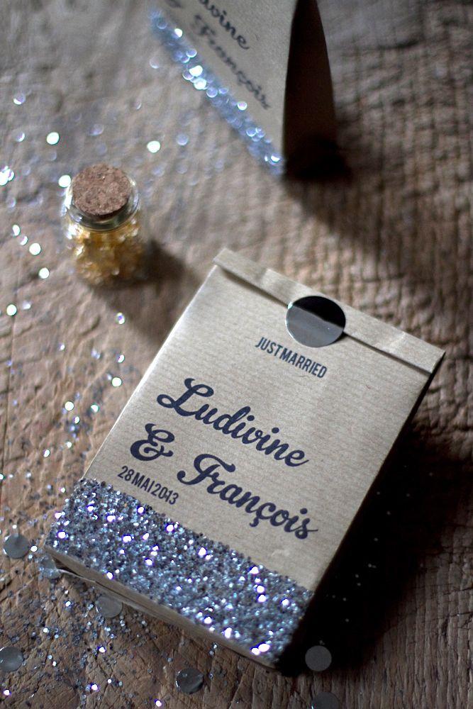 DIY – Sachets de papier kraft | Blog mariage, Mariage original, pacs, déco A faire soi meme