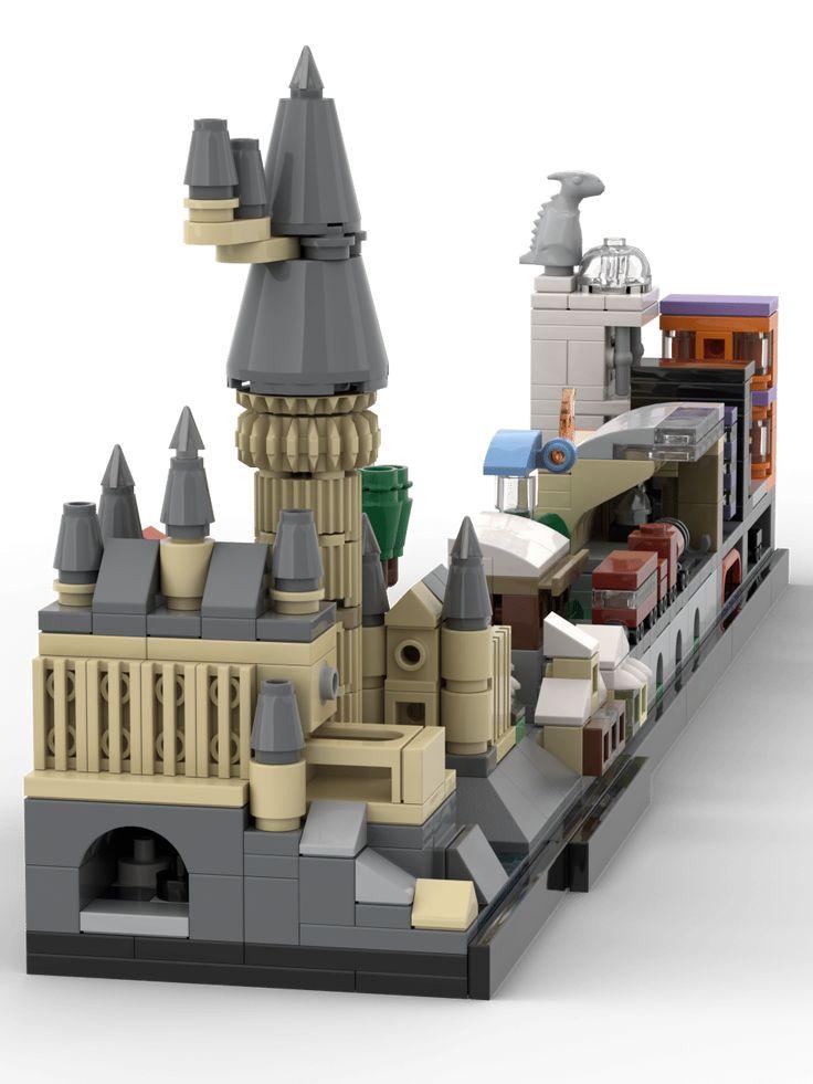 Lego® Custom Instructions Harry Potter Skyline