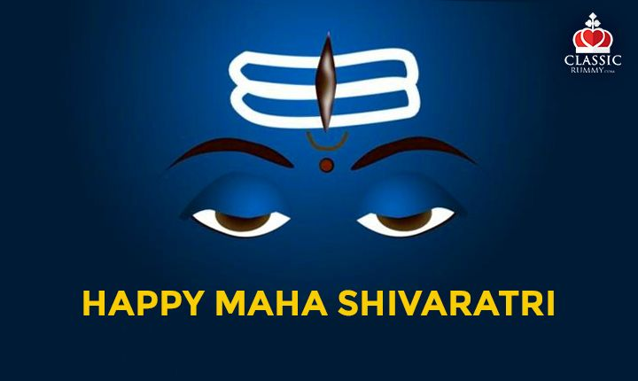 Classic Rummy team Wishes you all a very happy Maha Shivaratri!  #rummy #classicrummy #shivaratri #lordshiva