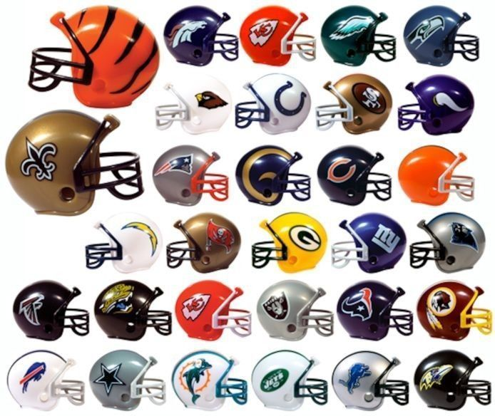 Carolina Panthers #NFL Mini Gumball #Football Helmet-pencil Toppers Bonus!! from $0.99