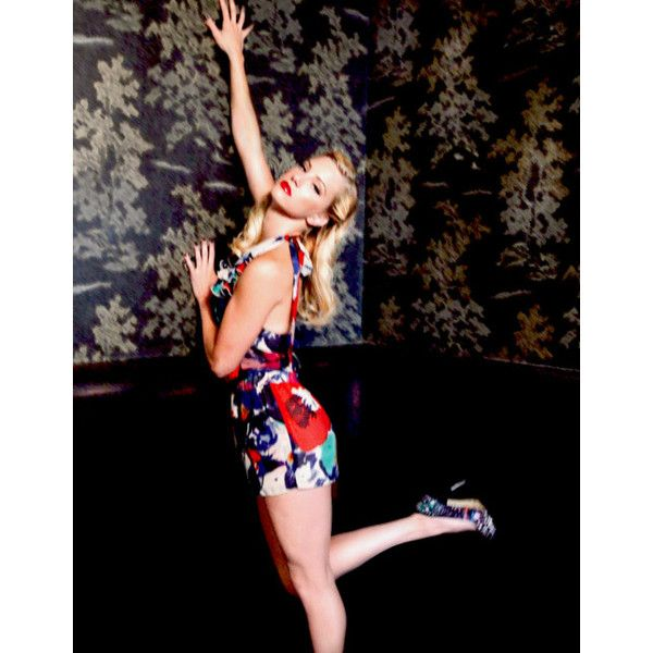 the stunning heather elizabeth morris ❤ liked on Polyvore featuring heather morris and glee