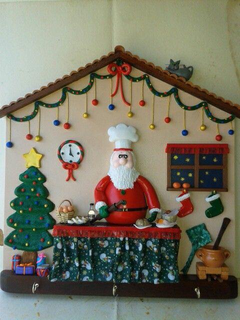 Perchero navideño talleraradia@gmail.com
