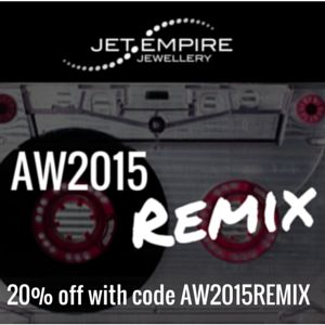 20% off all new collection pieces until Sunday 12th April 2015. Shop here: http://www.jetempire.com.au/collections/aw-2015-remix