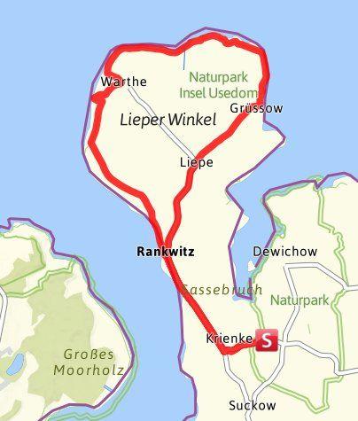 Auf der Insel Usedom findet Ihr zahlreiche schöne Fahrrad-Touren, die für jedermann geeignet sind. Mehr als 150 km  ...